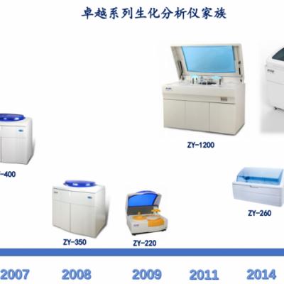 卓越ZY系列全自动生化分析系统 全自动生化分析仪350 KHB科华生物医疗仪器代理
