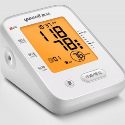 鱼跃臂式电子血压计 YE660F臂式电子血压计