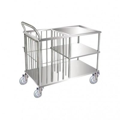恒悦(跃进) 不锈钢床铺护理车II 型