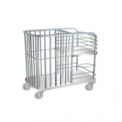 恒悦(跃进) 不锈钢床铺护理车I 型