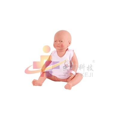 医模 新生儿护理模拟人(女婴)