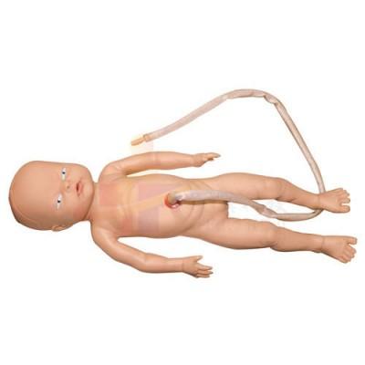 医模 脐带护理模拟人(女婴)