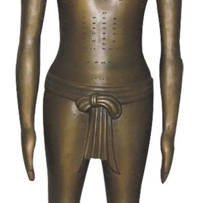 医模 仿古针灸铜人