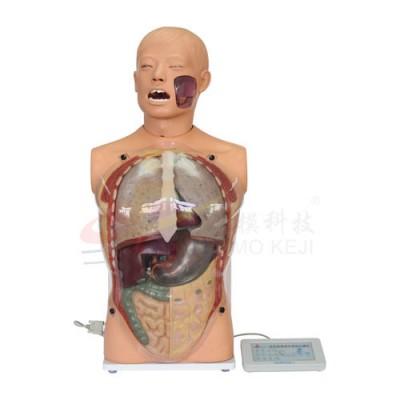 医模 高仿真透明洗胃模型