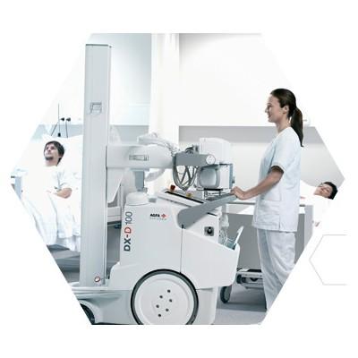海纳医信 DX-D 100+移动式 DR 系