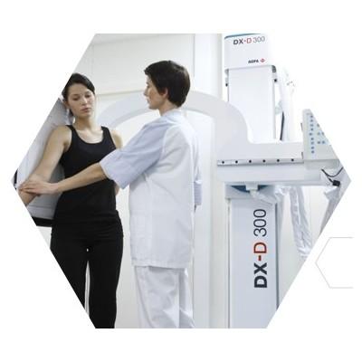 海纳医信 DX-D 300数字X射线摄影系统 U形臂落地式 DR设备