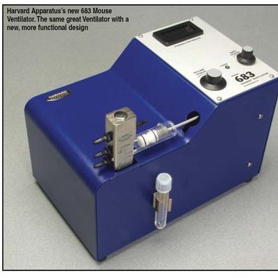 众实迪创 美国harvard687 小动物呼吸机