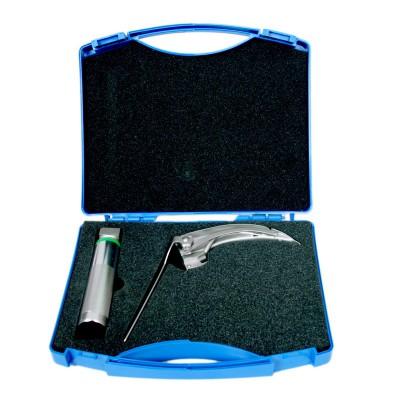 难度弯钩喉镜MJ-III/G-129mm 迈骏医疗不锈钢喉镜