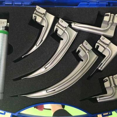 光纤喉镜组合套装 6+1款迈骏医疗成人套装喉镜
