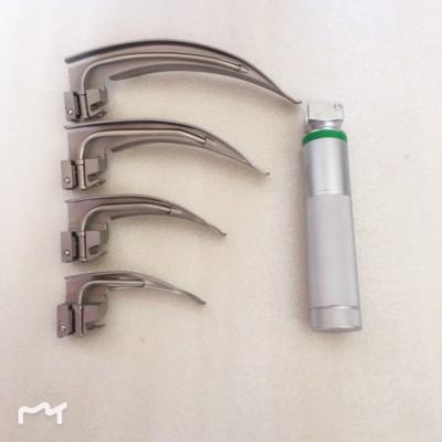 光纤喉镜组合套装 4+1款迈骏医疗麻醉咽喉镜