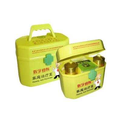 青岛中惠圣熙 家庭户外应急治疗室数字纱布急救箱包