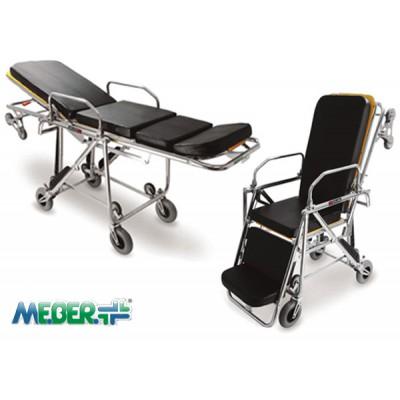 意大利MEBER可变椅位自动上车担架 飞斯特意大利MEBER担架代理