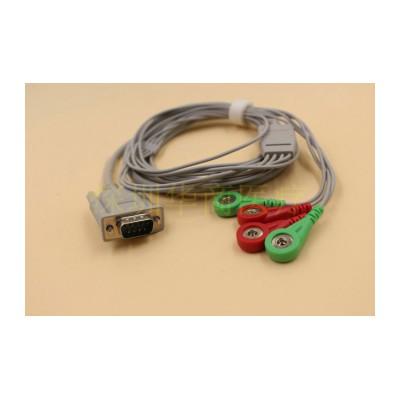 华商医疗兼容低频电子脉冲膀胱治疗仪导联线/力合膀胱仪连接线/LGT-1000B电极线
