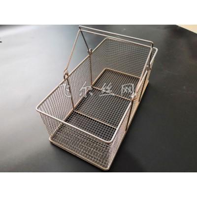 飞尔网业304不锈钢取样篮 实验室取样筐 试管篮  篮筐  试验网筐