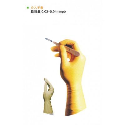 美康射线防护手套 防辐射铅手套 射线防护铅手套 医用防护铅手套批发
