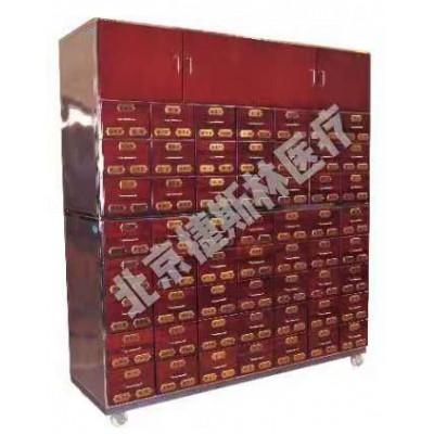 捷斯林 AS-104钢木结合中药柜制造厂家 中药柜出售