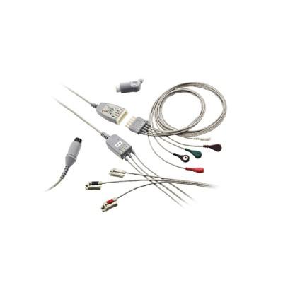 索莱瑞医疗 医用一体式心电电缆 多功能心电导联线价格