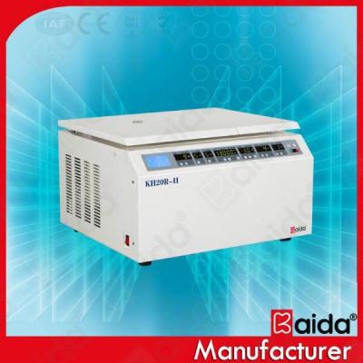 凯达 KH20R-II台式通用高速冷冻离心机 全自动识别离心机厂家