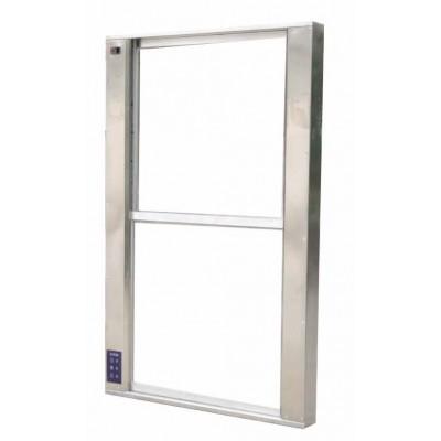 永创医疗 YC-SCC1020医用不锈钢电动升降传递窗  自动升降传递窗代理
