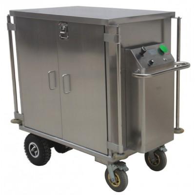 永创医疗 YC-XT128电动密封下送车 不锈钢充电无菌物品下送车厂家