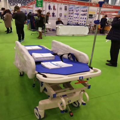 卫平医疗医院用ABS抢救车升降平车病人胃镜检查床手术转运车手推对接车