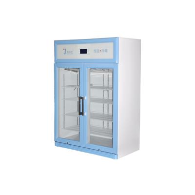 福意联 FYL-YS-828LD新型智能恒温冷藏设备 医用蓝色立式冷藏柜