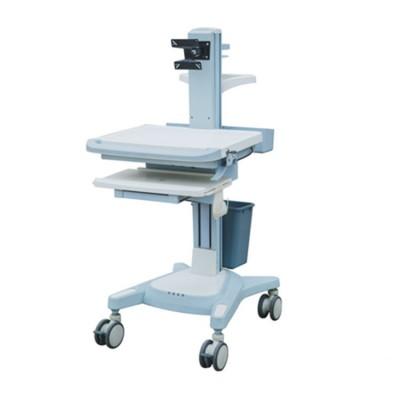明德医疗 医用一体多功能护理查房车 ABS电脑无线查房车价格