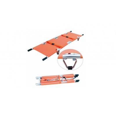 亚迈森医疗 EDJ-003A两折折叠担架 便携铝合金急救担架价格