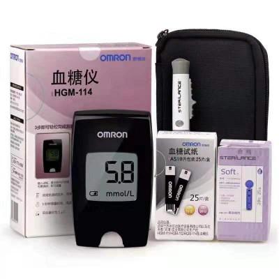 中谦医疗 HGM-114欧姆龙血糖仪 家用便携式血糖监测仪报价