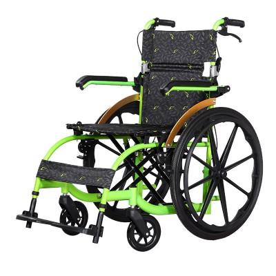 如康医疗 铝合金轮椅折叠轮椅车 轻便老年人残疾人手推代步轮椅报价
