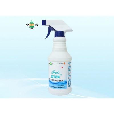 卓健医疗 复合双链季铵盐消毒液 医用物表清洗消毒液价格