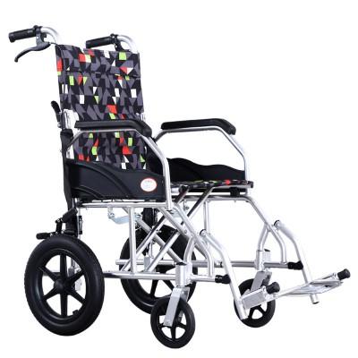 金松康柏 便携式铝合金轮椅 轻便折叠多功能残疾人轮椅价格