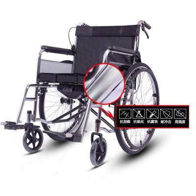 金松康柏 残疾人折叠坐便轮椅 老人便携折叠手动轮椅车招商