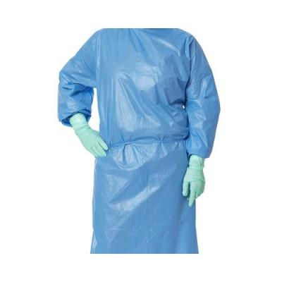 康明纳 聚乙烯涂层聚丙烯隔离服 一次性医用防护服隔离衣厂家