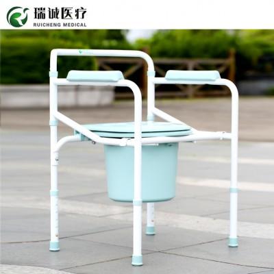 瑞诚固定式坐厕椅 老年人固定座便器