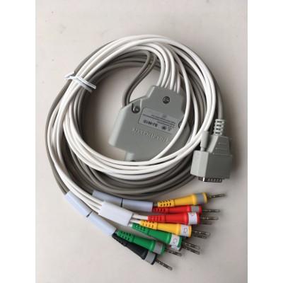 惠仁科技 原装日本光电心电图机导联线 分体式心电图仪心电导联线招商