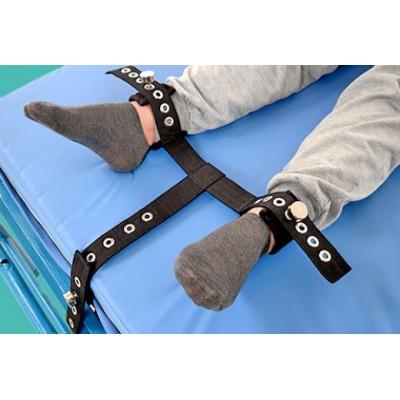 """蒙泰 E-001-10B双脚""""T""""型四肢约束带 APN磁控约束带厂家"""