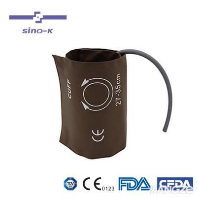中仓监护仪血压袖带单管有囊通用型高档PU皮料防水