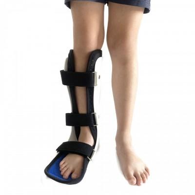康博厂家直销儿童踝关节可调固定支具小腿脚踝骨折扭伤足托下垂矫形器