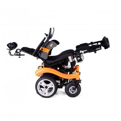 伊凯 EPW65S捷豹多功能全电动轮椅车 医用可折叠电动轮椅车厂家