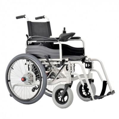 伊凯 EPW63领创电动手动两用折叠轮椅车 可折叠拆卸电动轮椅车报价