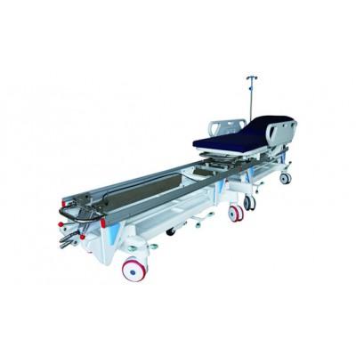 医用转移车 华瑞医用转移车 碳钢喷塑纵向医用转移车B032