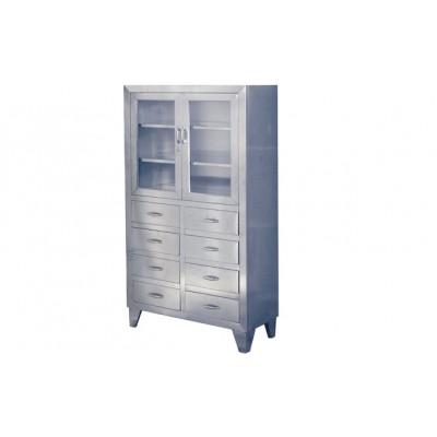 华瑞器械柜 不锈钢器械柜 不锈钢双门器械柜普通式Ⅲ型F013
