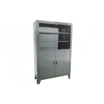 华瑞普通器械柜 不锈钢普通器械柜 不锈钢双门器械柜普通式Ⅱ型F012