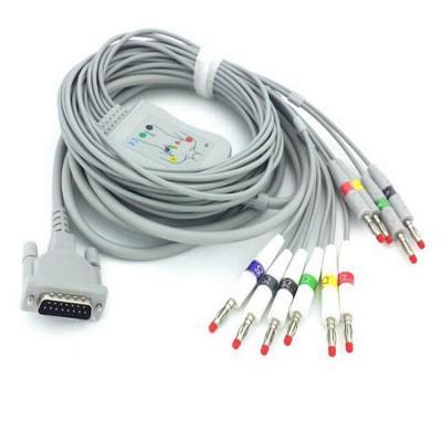 康尔友心电图机线 兼容席勒Schiller AT3海力格心电图机线
