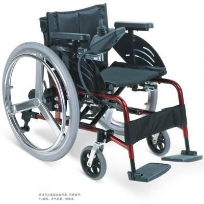 邦哲 BZD105L医用轻便折叠式电动轮椅 多功能残疾人轮椅报价