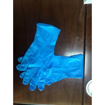 一次性检查手套 瑞春丁腈手套 蓝色手套