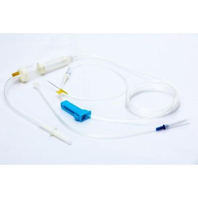 曙光汇知康 一次性使用带针输血器 医用TPE输血器价格