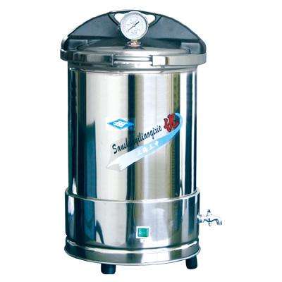 YX280手提式不锈钢压力蒸汽灭菌器(防干烧) 三申蒸汽灭菌器