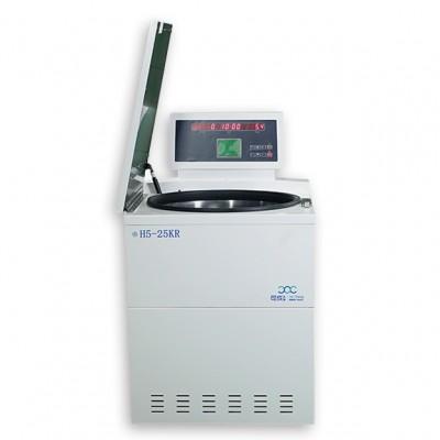 H5-25KR落地式高速冷冻离心机 望科高速冷冻离心机 冷冻血袋离心机
